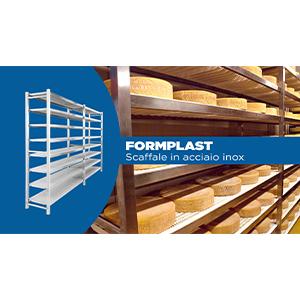SCAFFALI FORMPLAST  Scaffalature modulari per alimenti  scaffali metallici componibili ...